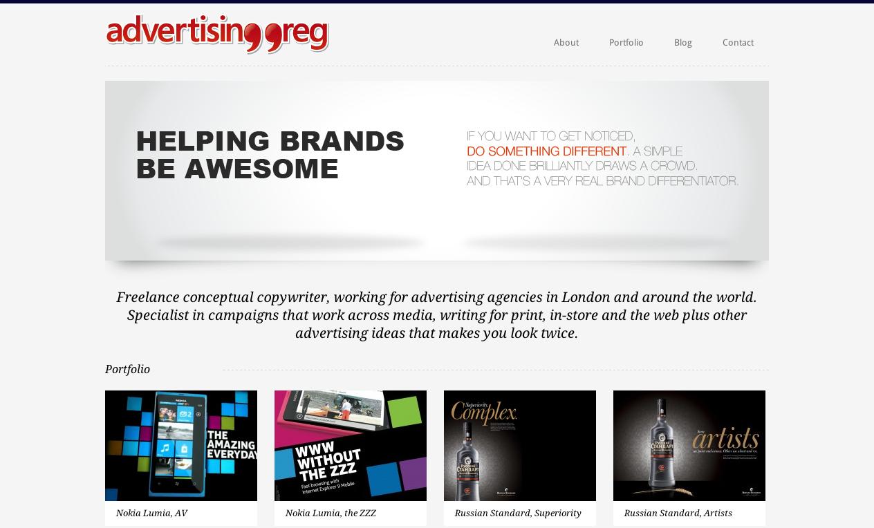 AdvertisingGreg.co.uk