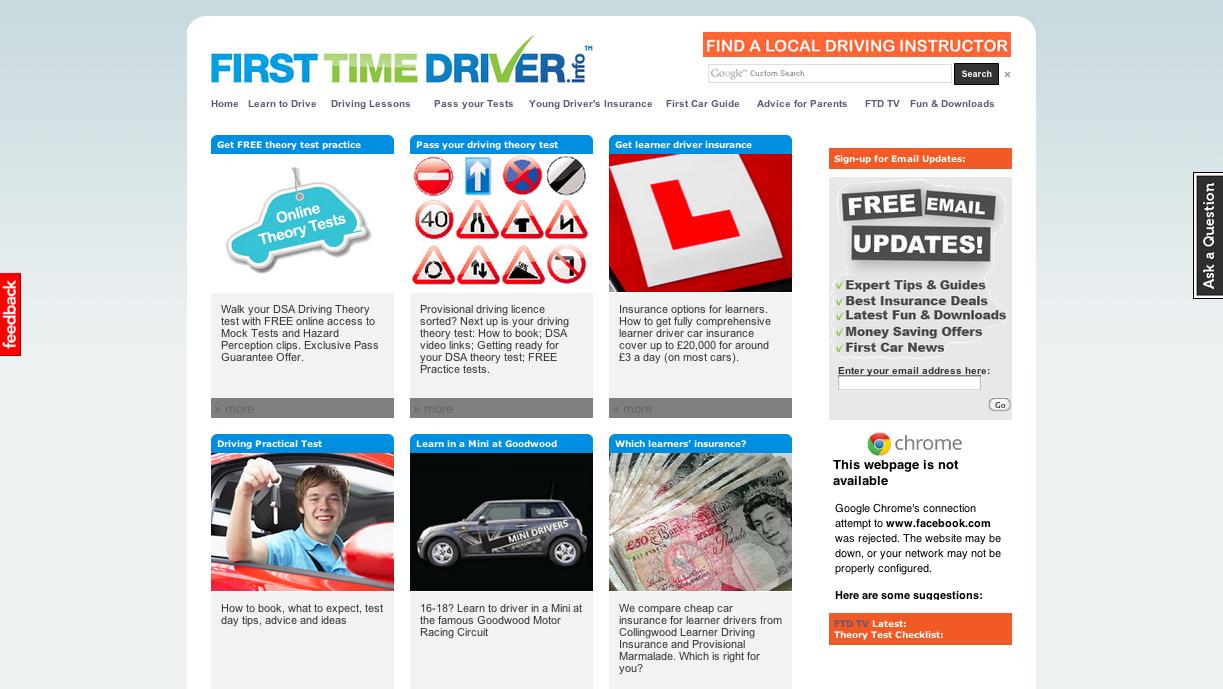 FirstTimeDriver.info